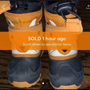 Toddler Boys Snow boots 🚫SOLD🚫